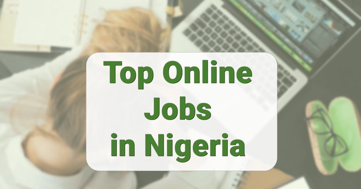 Top Online Jobs in Nigeria